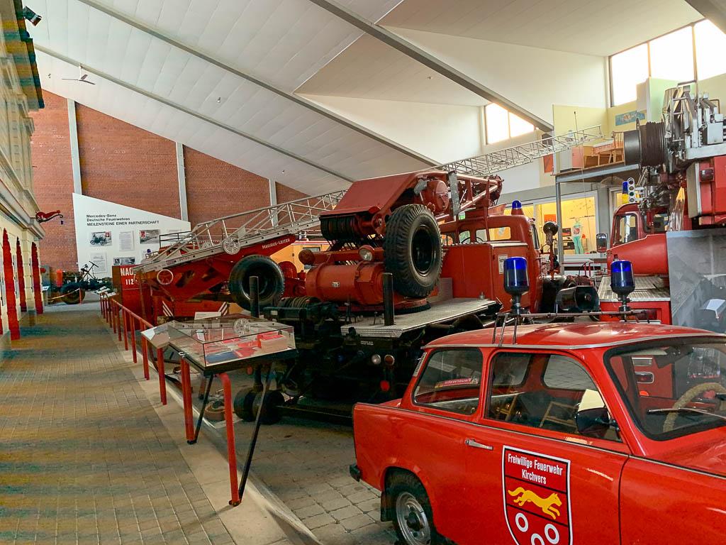 Ausstellungsraum Deutsches Feuerwehrmuseum in Fulda