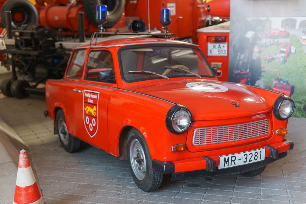 Feuerwehr Trabi Deutsches Feuerwehrmuseum in Fulda