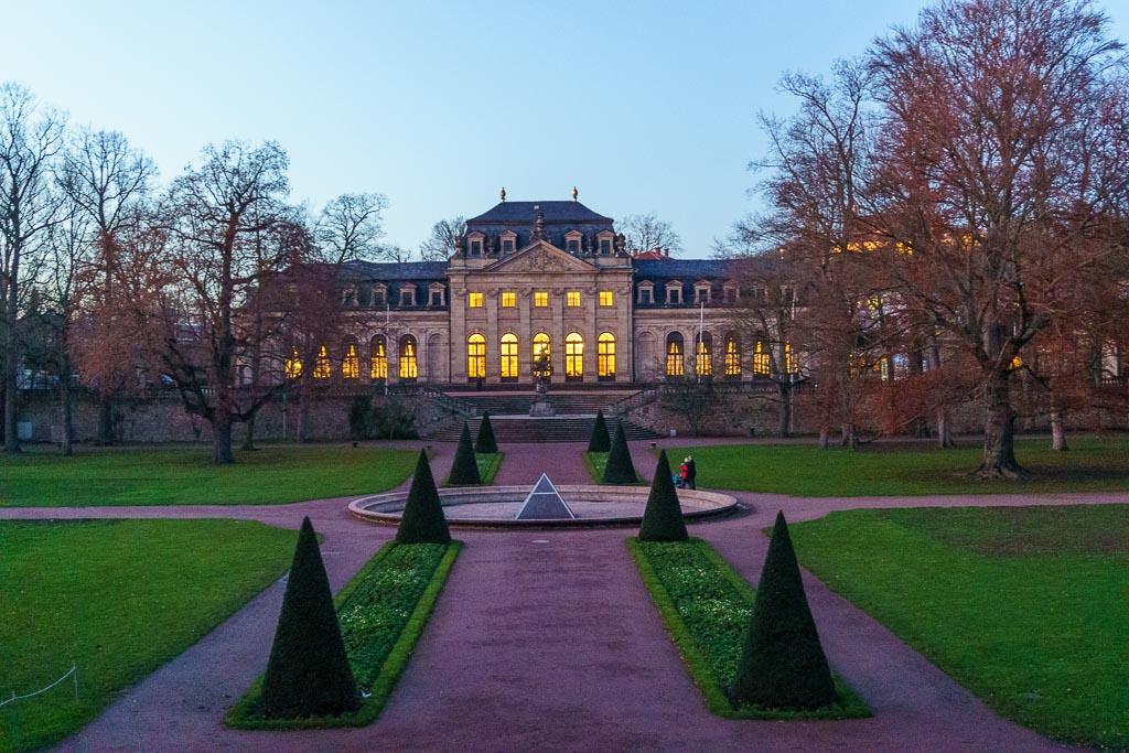Blick zur Orangerie in Fulda