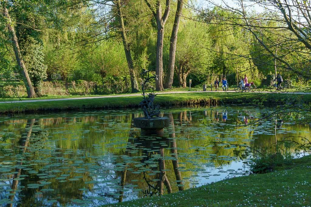 Teich im Klostergarten