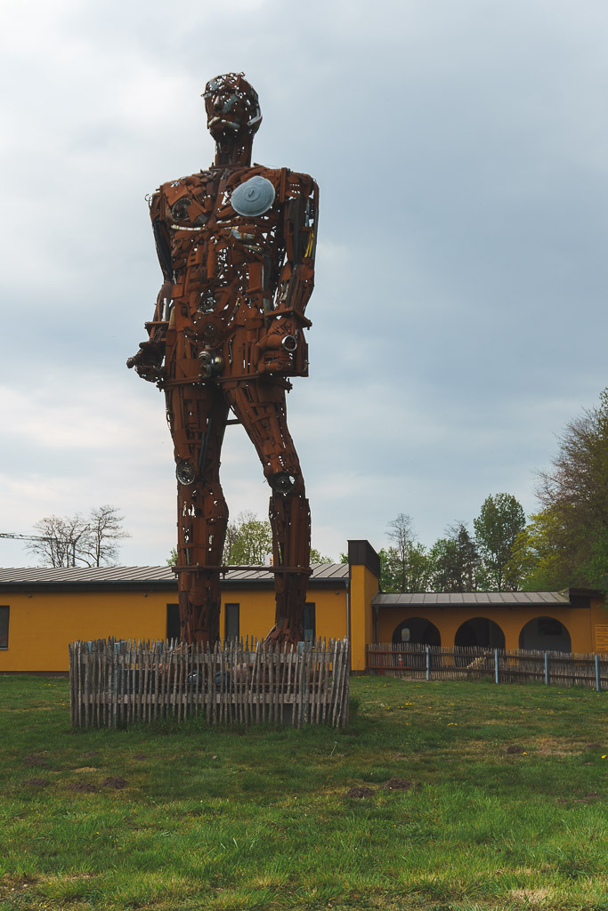 Goliath am Biebeldorf