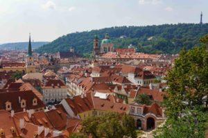 Aussicht auf Prag